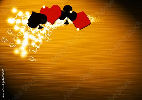 Fotografie, Obraz  Poker and casino