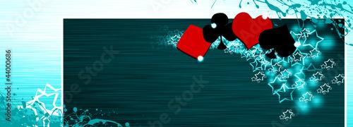 Poker and casino Canvas Print