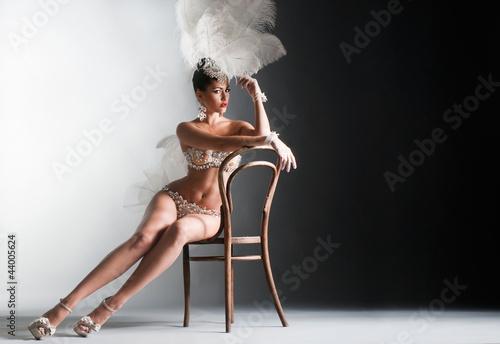 Photo  Girl dancer