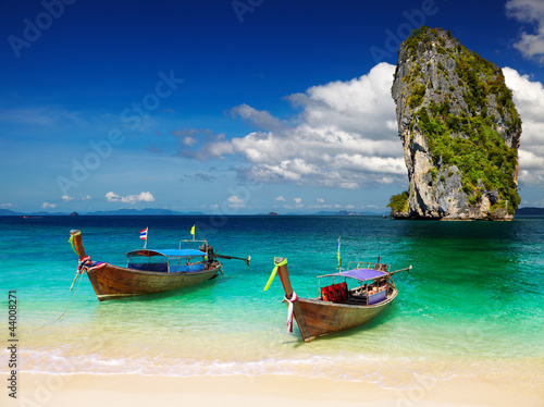 Tropical beach, Andaman Sea, Thailand #44008271