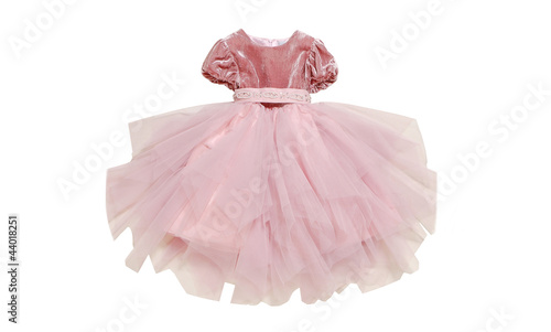 Fotografie, Obraz  Детское нарядное платье с пышной юбкой.