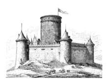 Medieval Castle - Chateau - Sc...