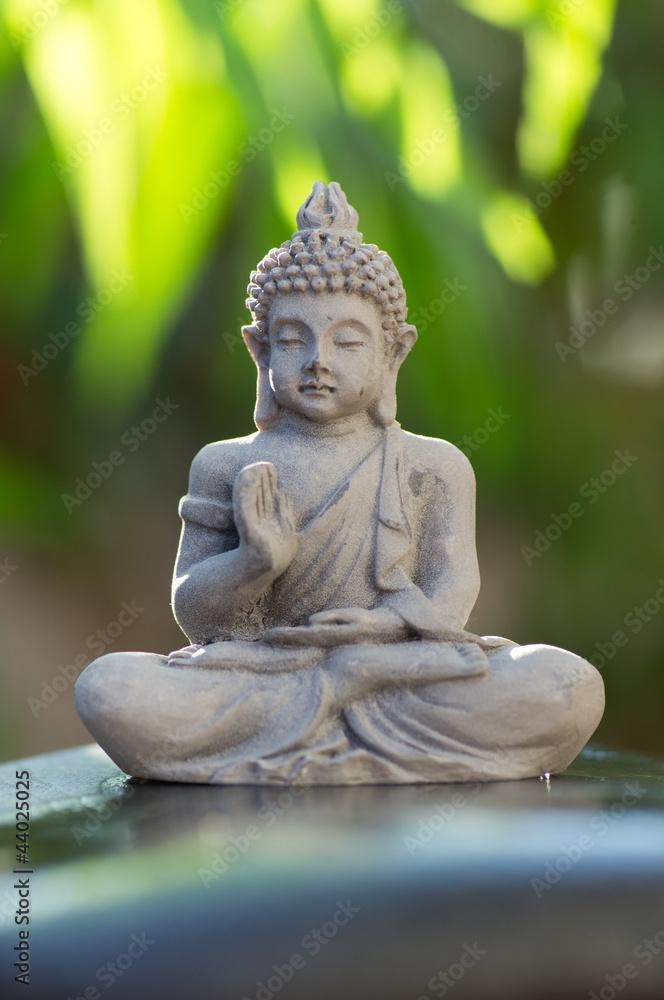 Plissee mit Motiv - Buddha