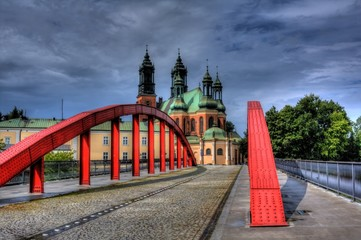 Cathedral in Poznan, Poland