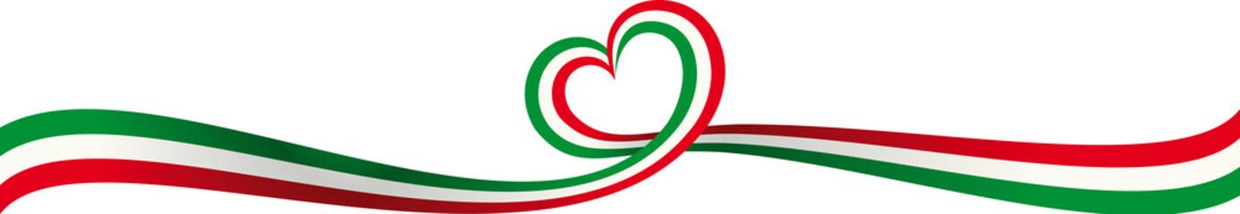 Talijanska vrpca natpis