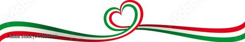 Fotografia  Banner Nastro Italia
