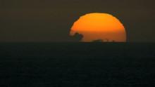 Time Lapse Full Setting Sun