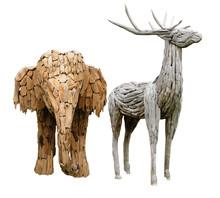 Elephants And Deer