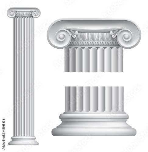Ionic column Fototapet