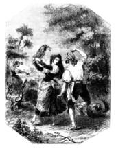 Traditional Gypsies : Dancing