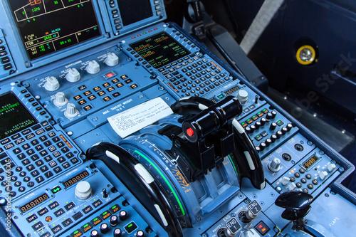 Fotografie, Obraz  Cockpit console