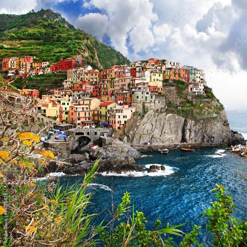 Foto-Kassettenrollo premium - pictorial Italy - Monarolla, Cinque terre