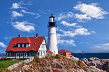 Portland Head Lighthouse In Ca...