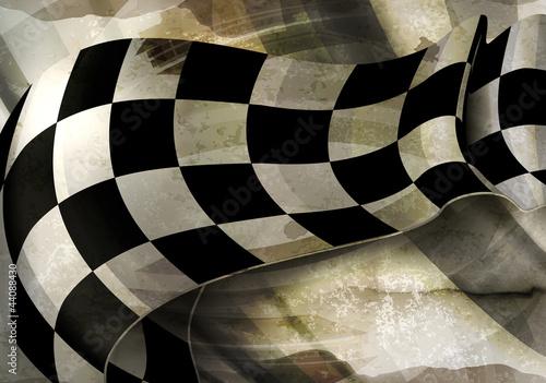pofalowane-tlo-w-czarno-biala-kratke-szachownice