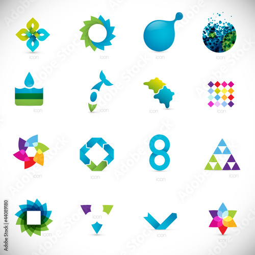 Abstract Logo  free logos design templates