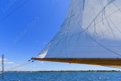 Fotografie, Obraz  Views of the private sail yacht.