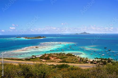 Foto op Plexiglas Caraïben Union Island, Saint Vincent and the Grenadines, The Caribbean