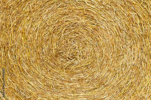 Strohballen - Hintergrund Fototapete