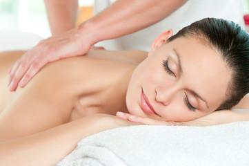 Fototapeta Beauty spa treatment