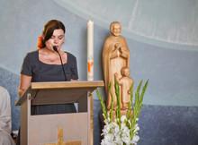 Young Woman Preaching In Chris...