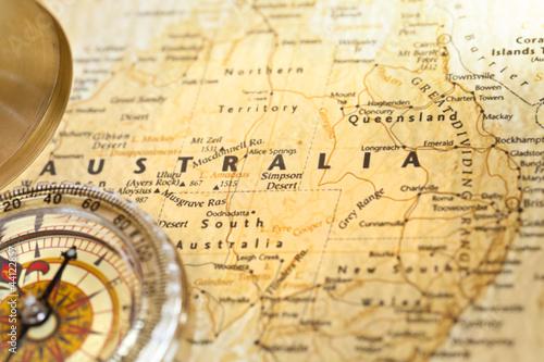 Papiers peints Retro Australia trip