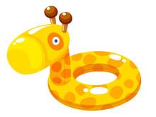 Swim Ring Vector Illustration
