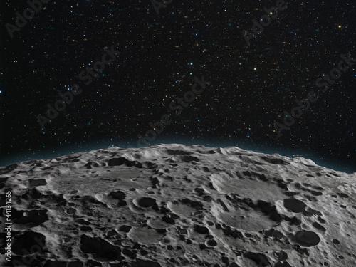 Fotografiet  Lunarsurface