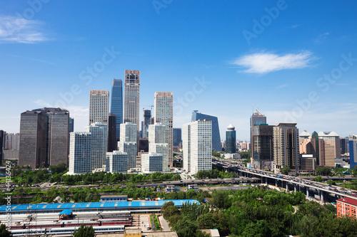 Fototapety, obrazy: landscape of modern city ,beijing