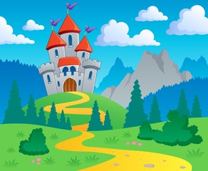 Dvorac tematski krajolik 1