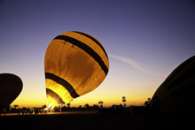 Hot Air Balloon Is Inflating B...