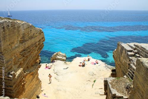 Fotografie, Obraz  Cala di Bue - Favignana - Sicilia - Italy
