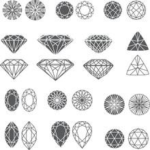 Diamond Design Elements - Cutt...