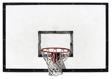 Basketball Backboard On The Sc...