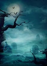 Halloween Background - Spooky ...
