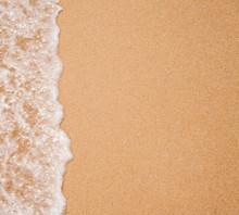 Water Surf Edge On Beach Sand