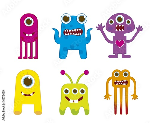 Recess Fitting Creatures monsters