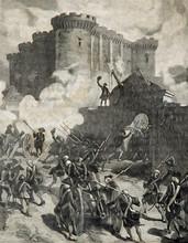 Prise De La Bastille Paris 178...
