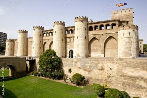 The Aljaferia palace in Zaragoza