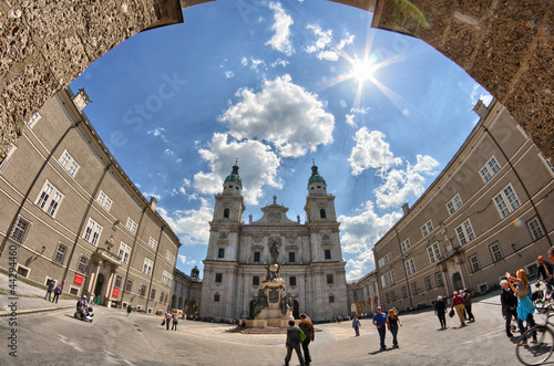 Fotografie, Obraz  St Peter's Archabbey, Salzburg