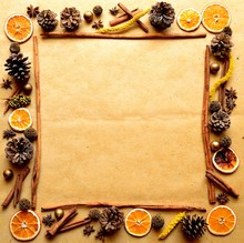 Frame Of Spice,orange And Pine...