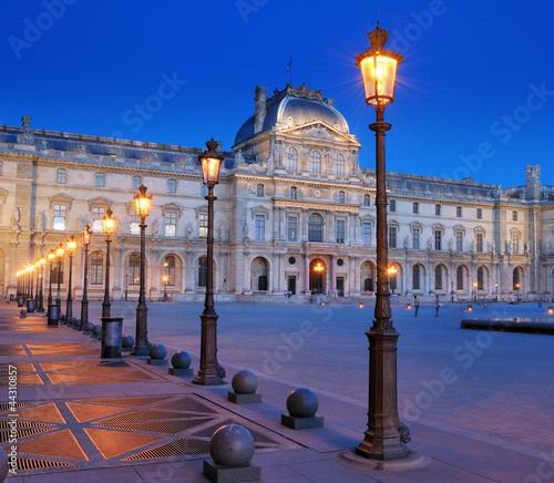 Fotografie, Obraz  Louvre.