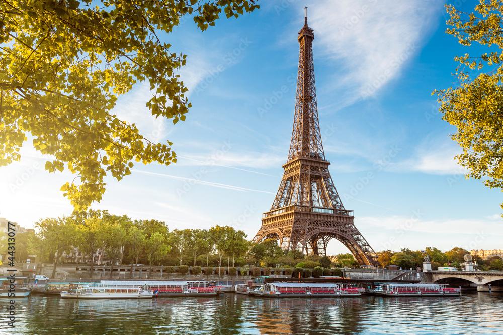 Fototapety, obrazy: Tour Eiffel Paris France
