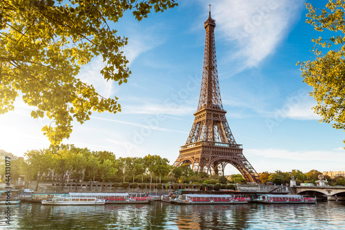 Printed kitchen splashbacks Eiffel Tower Tour Eiffel Paris France