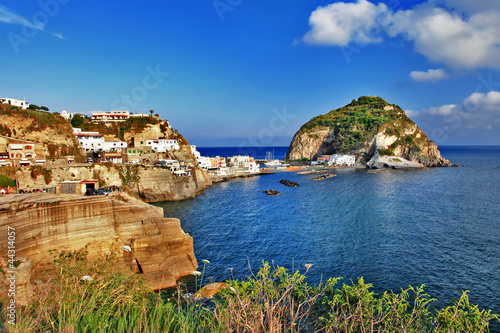 Foto-Leinwand - beautiful Ischia island,italy - sant angello