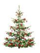 Festlicher Weihnachtsbaum