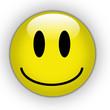 Smile yellow button
