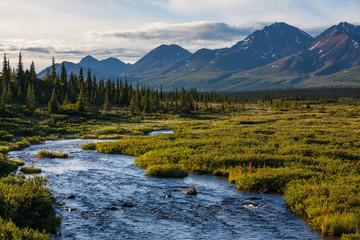 Fototapeta jezioro górksie Alaska