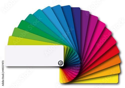 Obraz na płótnie nuancier couleurs