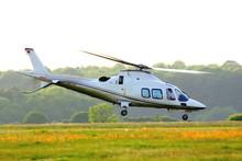 VIP-Hubschrauber Start