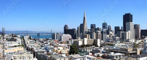 Deurstickers San Francisco USA - San Francisco